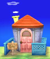 Freya's house exterior