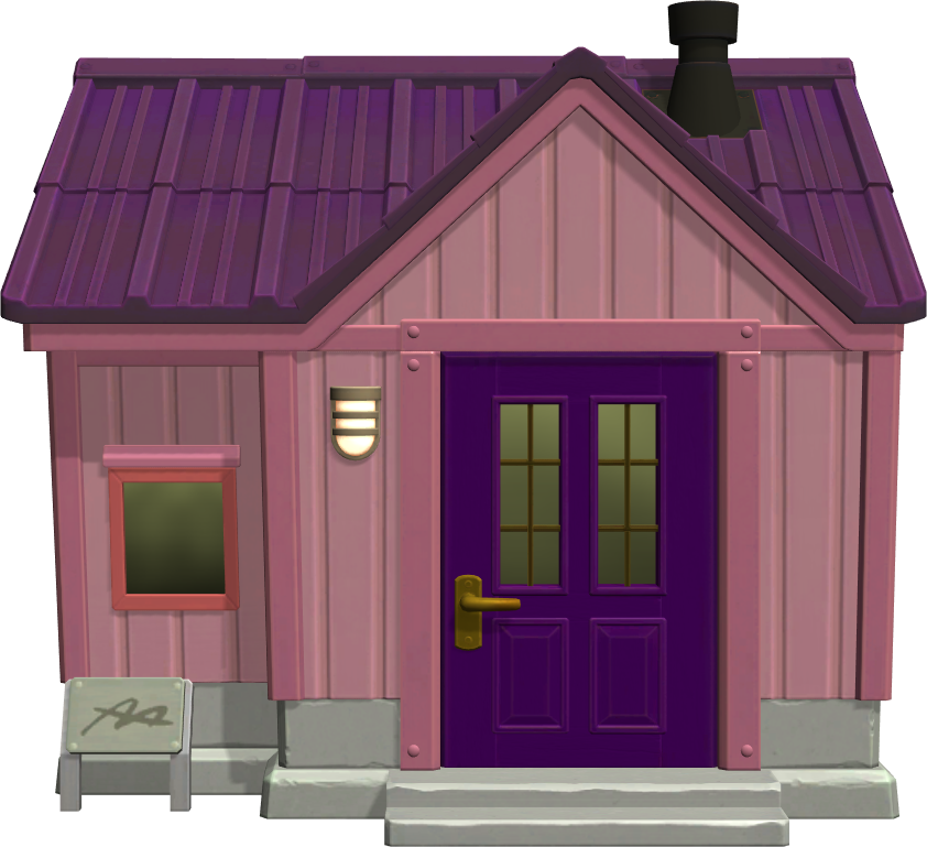 Exterior of Claudia's house in Animal Crossing: New Horizons