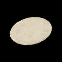 Ivory Small Round Mat