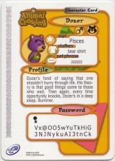 Animal Crossing-e 2-075 (Dozer - Back).jpg