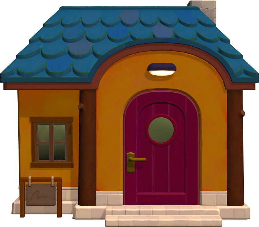 Exterior of Sandy's house in Animal Crossing: New Horizons