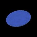 Blue Small Round Mat