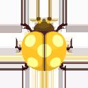 Yellow Flower Ladybug PC Icon.png