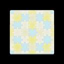 Pastel Puzzle Flooring