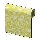 Yellow Intricate Wall