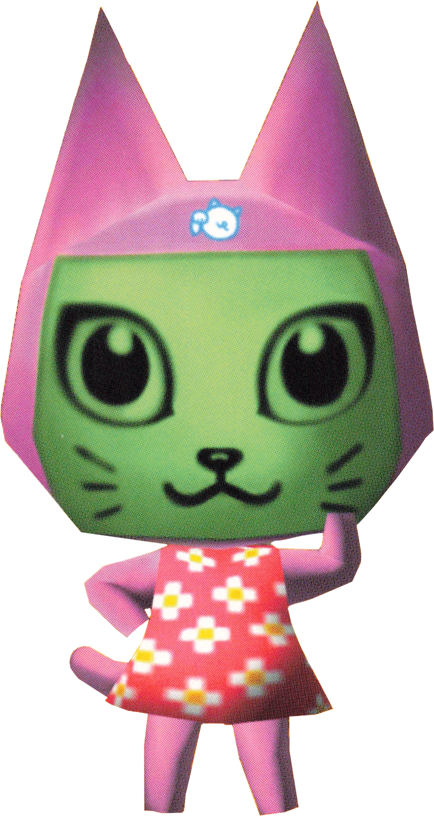 Meow, an Animal Crossing villager.