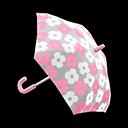 Mini-Flower-Print Umbrella