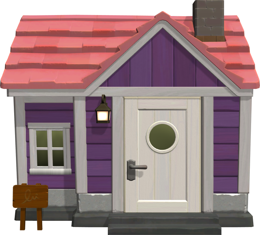 Exterior of Renée's house in Animal Crossing: New Horizons
