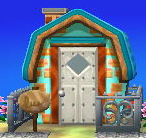 Exterior of Whitney's house in Animal Crossing: New Leaf