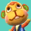 Flip's picture in Animal Crossing: New Leaf