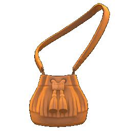 Pleather Fringe Bag