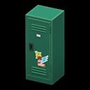 Upright Locker (Green - Pop) NH Icon.png