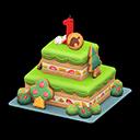 First-Anniversary Cake