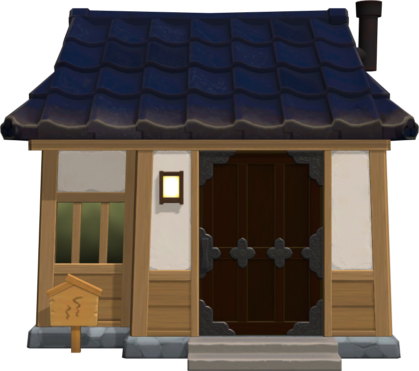 Exterior of Greta's house in Animal Crossing: New Horizons