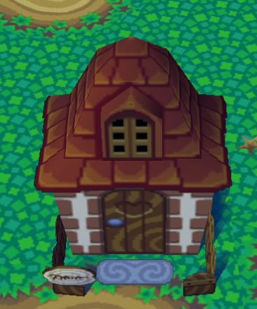 Exterior of Egbert's house in Animal Crossing
