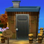 Exterior of Kyle's house in Animal Crossing: New Leaf