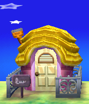 Exterior of Pancetti's house in Animal Crossing: New Leaf
