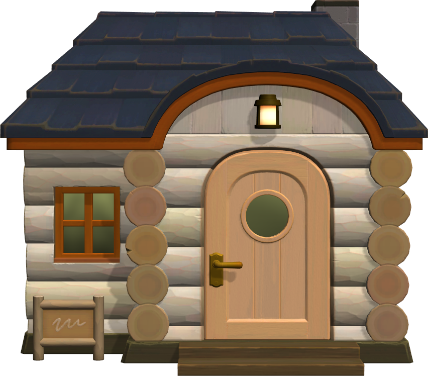 Exterior of Vesta's house in Animal Crossing: New Horizons