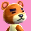 Teddy's picture in Animal Crossing: New Leaf