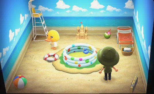 Interior of Joey's house in Animal Crossing: New Horizons