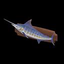 Mounted Blue Marlin