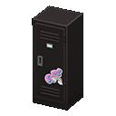 Upright Locker (Black - Cute) NH Icon.png