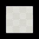 Cute White-Tile Flooring