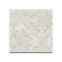 White Iron-Parquet Flooring