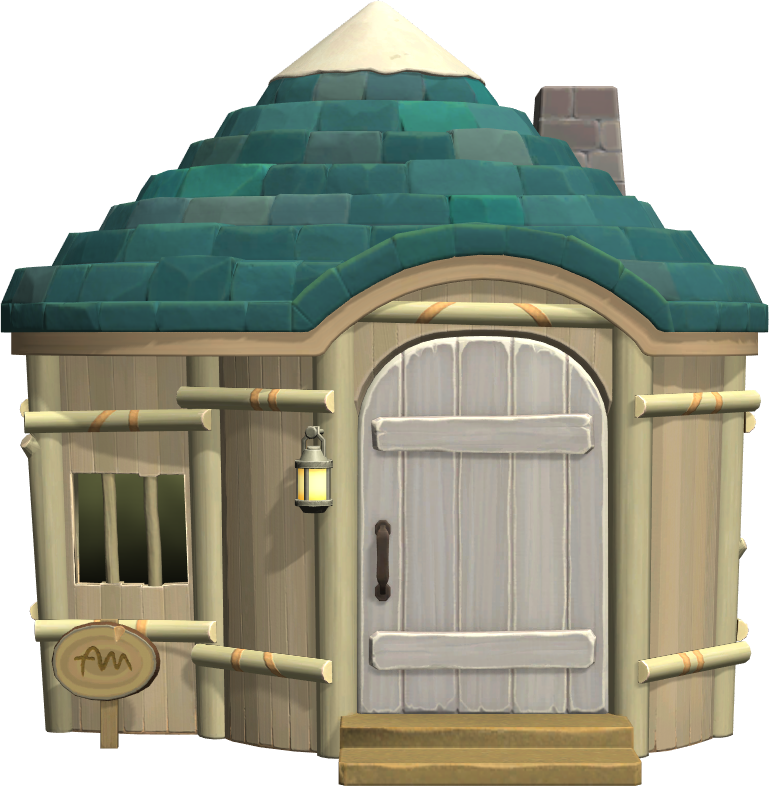 Exterior of Alli's house in Animal Crossing: New Horizons