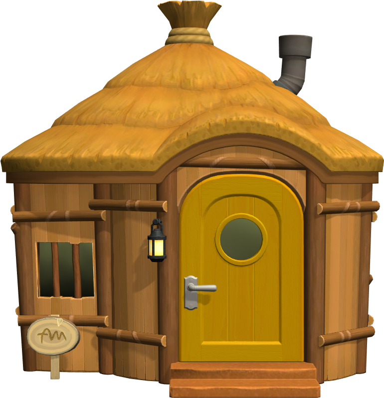Exterior of Egbert's house in Animal Crossing: New Horizons