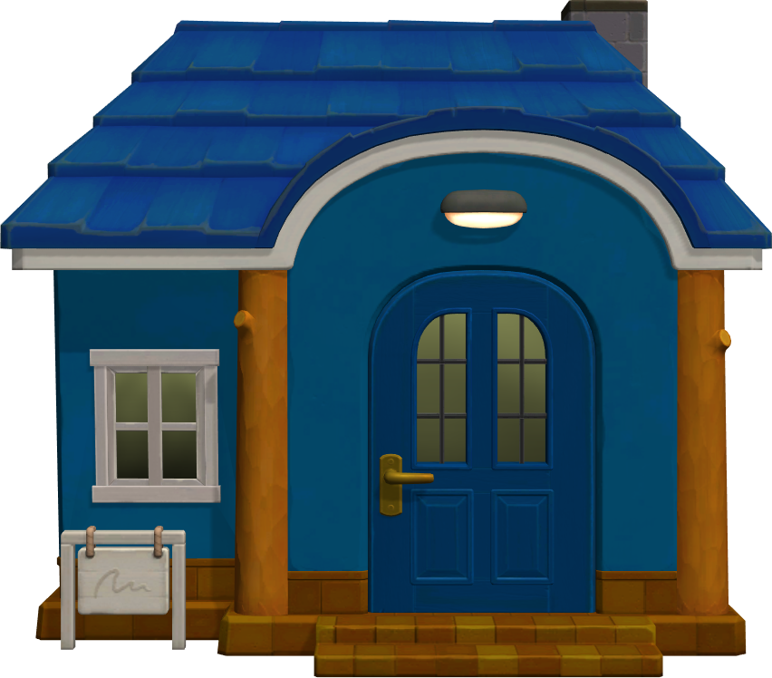 Exterior of Jeremiah's house in Animal Crossing: New Horizons