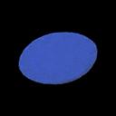 Blue Medium Round Mat