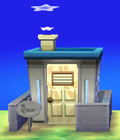 Exterior of Marshal's house in Animal Crossing: New Leaf