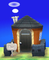 Exterior of Rooney's house in Animal Crossing: New Leaf