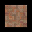 Brown-Brick Flooring