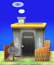Exterior of Raddle's house in Animal Crossing: New Leaf