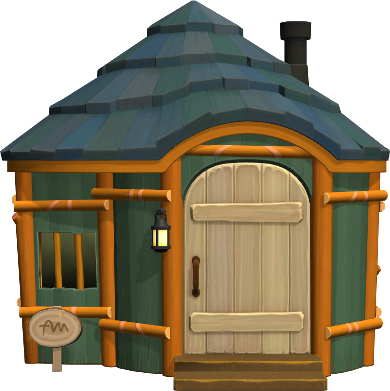 Exterior of Drake's house in Animal Crossing: New Horizons