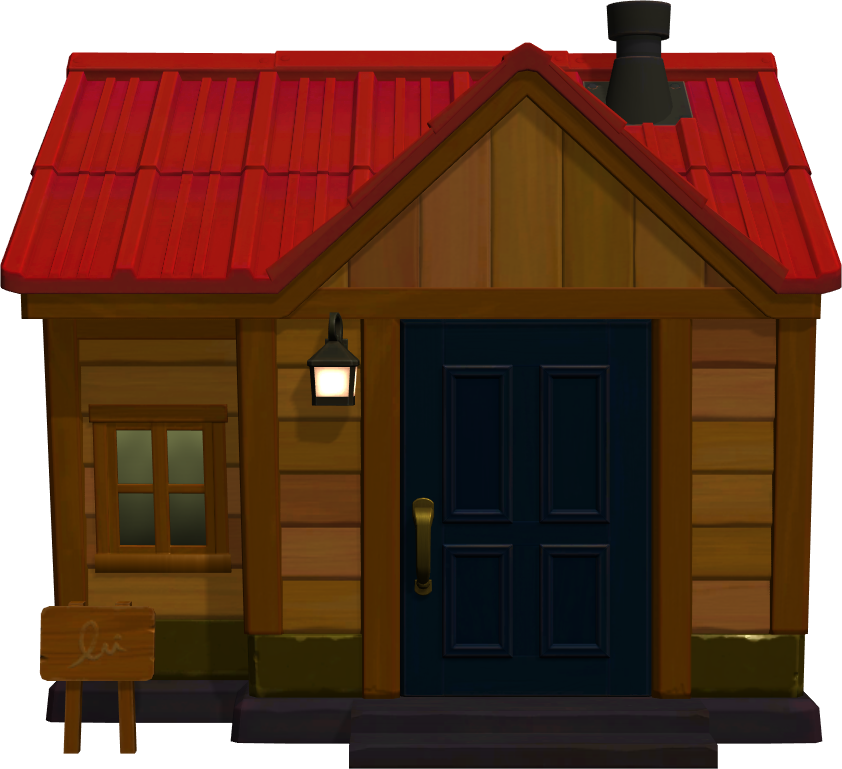 Exterior of Broffina's house in Animal Crossing: New Horizons