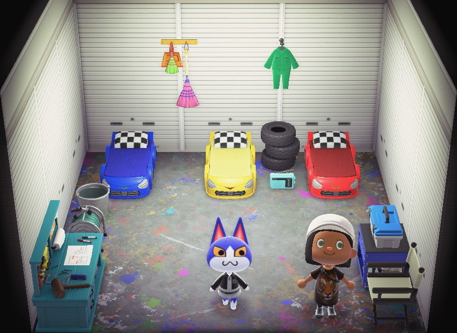 Interior of Tom's house in Animal Crossing: New Horizons