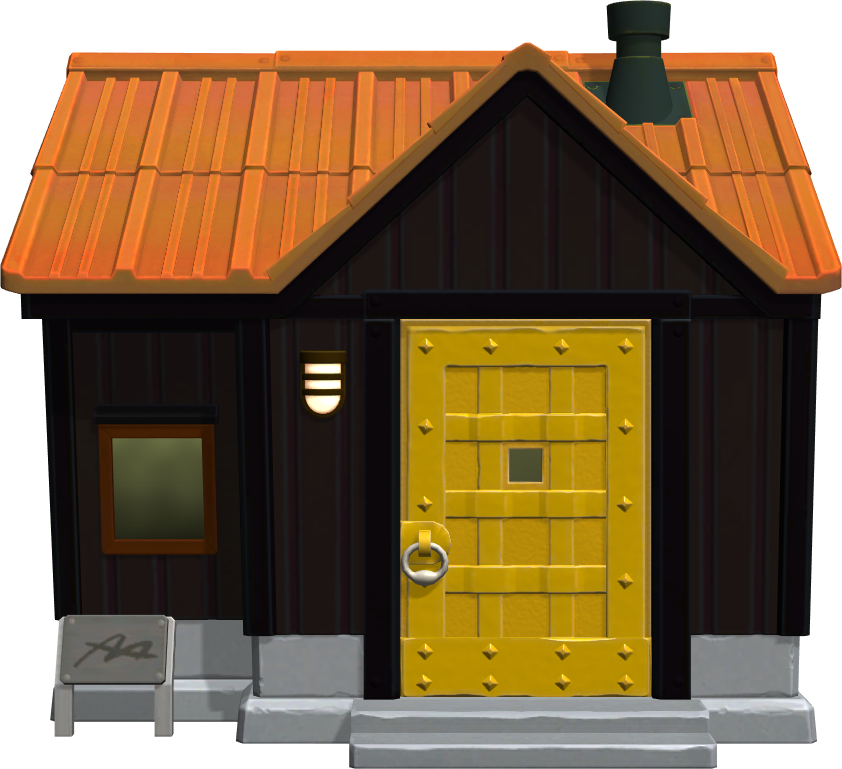 Exterior of Spike's house in Animal Crossing: New Horizons