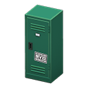 Upright Locker (Green - Cool) NH Icon.png