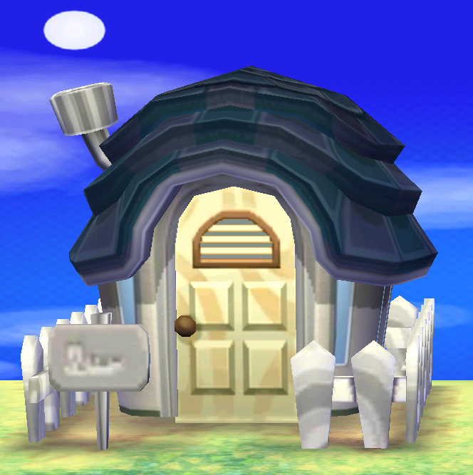 Exterior of Vesta's house in Animal Crossing: New Leaf
