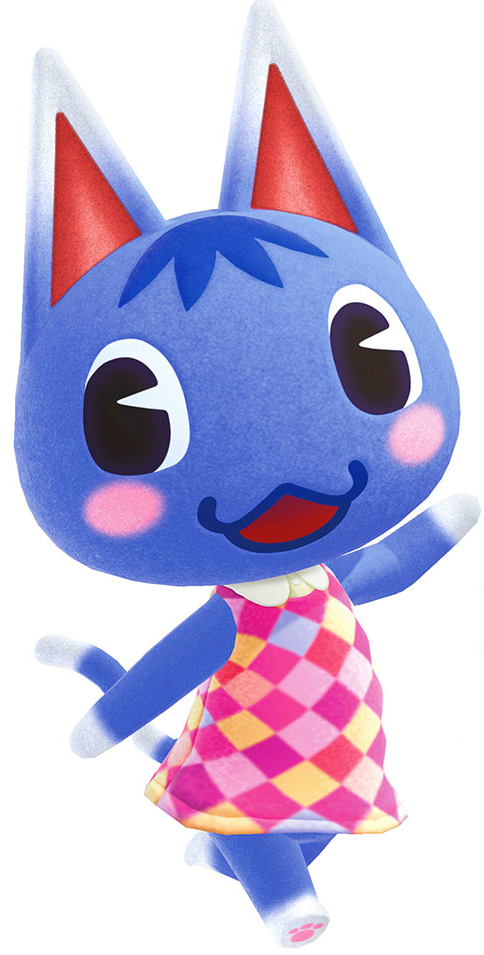 Artwork of Rosie the Cat