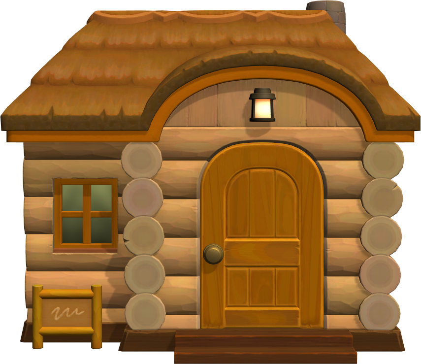 Exterior of Molly's house in Animal Crossing: New Horizons