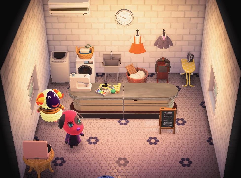 Interior of Vesta's house in Animal Crossing: New Horizons