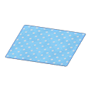 Blue Dotted Rug