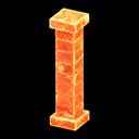 Frozen Pillar's Ice Orange variant