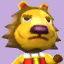 Elvis's picture in Animal Crossing: New Leaf