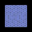 Blue Honeycomb Tile