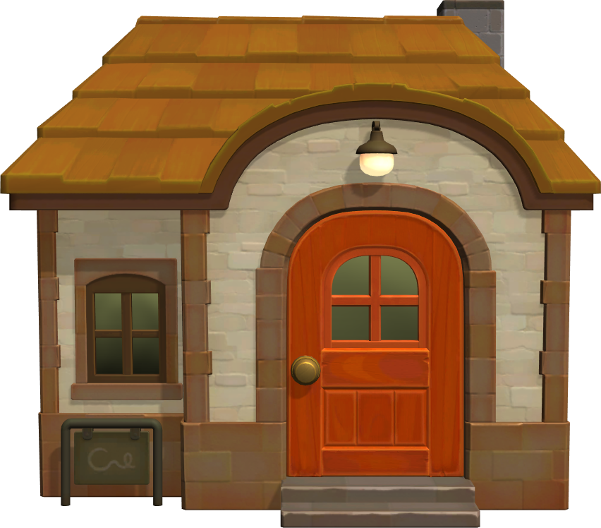 Exterior of Bubbles's house in Animal Crossing: New Horizons